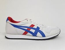 Asics Onitsuka Tiger Unisex TEMP RACER Shoes White/Blue/Red D408N-0142 a1