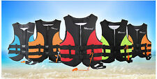 Life Jacket Vest Flotation PFD Neoprene for Adults and Youth Water Ski Wakeboard