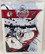 2017 NHL WINTER CLASSIC BLUES BLACKHAWKS GAME PROGRAM LIMITED EDITION