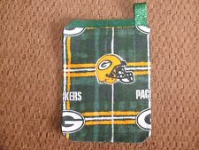 Hand crafted Card/Gift Holders Packers Green & Gold