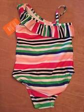 NWT Gymboree Toddler Rainbow Striped Swimsuit 2T or 3T