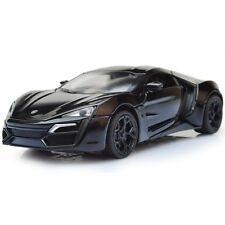Mini 1:32 Scale Alloy Lykan Hypersport Car 4 color Fast & Furious 7 Diecast Mode