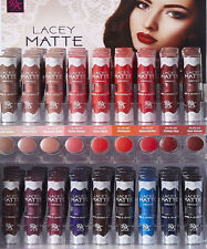 Ruby Kisses Lacey Matte Lipsticks Long-Lasting Shade Full Coverage Colors *1PC