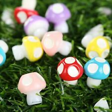 Resin DIY Decor Bonsai Figurine Craft Mushroom Miniature Ornament Fairy Garden