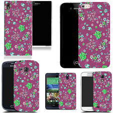 hard back case cover for many mobiles - purple dendritic