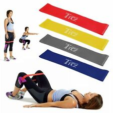 Resistance Band Loop Power Gym Sport Fitness Exercise Yoga WORKOUT Light/Heavy