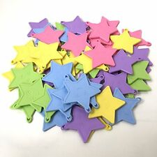 Star Shape Pastel Colour Plastic Weights For Helium Latex Balloons Choose Amount