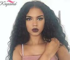 """Women's Brazilian Curly Full Lace Wig 100 Remy Human Hair Lace Front Wigs 12-22"""""""
