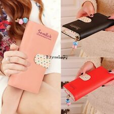 fashion lady women long purse clutch wallet high quality zip bag card EA77