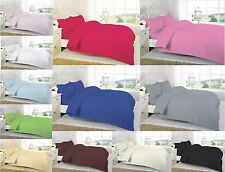 Luxury 5* Hotel Percale T200 100% cotton Duvet Cover Set Single Double King SK