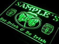 Personalized Irish Pub LED Neon sign Custom Name home pub Beer light Sign