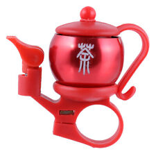 Creative Teapot Design Bike Bicycle Handlebar Ring Bell Horn Gift