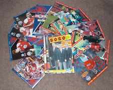 MIDDLESBROUGH HOME PROGRAMMES 1991  -  1995 - Choose from list
