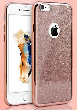 Bling Silicone Glitter ShockProof Case Cover For iPhone 7 Rose Gold/Silver New