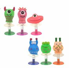 12/6  X ASSORTED JUMP POP UP MONSTER ALIEN BOYS TOYS CHILDRENS PARTY BAG FILLERS