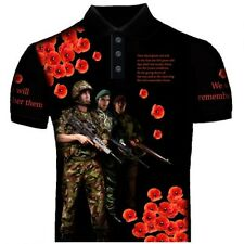 Poppy We Will Remember Them Polo Shirt