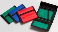 New Tri-Fold Nylon Ripper wallet with coin holder FREE UK POSTAGE