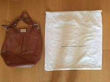 MARC by MARC JACOBS Classic Q Hillier Tan Leather Hobo Shoulder Bag - LARGE