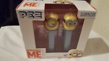 NEW Despicable Me Minions Pez Set/2 Collectible Candy Dispensers