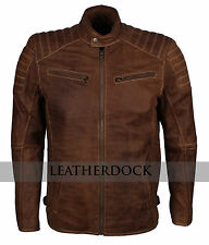 Designers Mens Genuine Leather Bikers Motorcycle Jacket For Sale - ALL COLORS