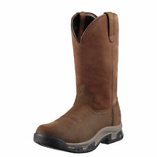 Ariat 10011829 Terrain Pull-On H2O Western Wellington Style Work Boots