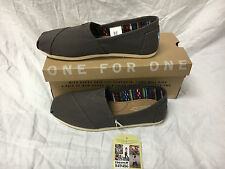 """Women's Toms Classic ash Canvas Suede Insole Slip On Shoes Variety **SAVE"""""""