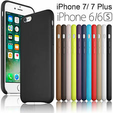 Ultra-thin PU Leather Back Cases Cover For Apple iPhone 7 / 7 Plus / 6S /6 Hot!