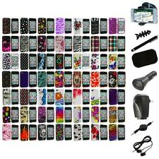 Design Color Hard Snap-On Skin Case Cover+8X Accessory for Apple iPhone 4 4G 4S