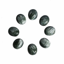 14x10MM Oval Shape, Seraphinite Calibrated Cabochons AG-217