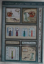 Hunkydory 'Just For Dad' Luxury Card Making Kit.1 topper sheet & 2 cardstock