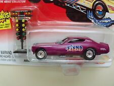 JOHNNY LIGHTNING - TOM DANIEL'S FEARLESS FUNNY CARS - THE FIEND - DODGE CHARGER