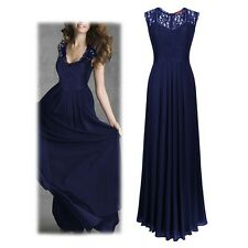 Womens Lace Cocktail Plus Big Size Maxi Dress Ladies Evening Party Long Dresses