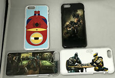Superheroes iPhone Samsung Phone case cover minion spiderman wolverine batman