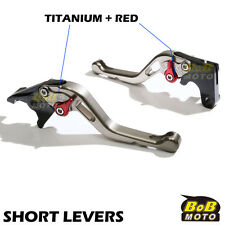 Fit Kawasaki ZX-10 88 89 90 Titanium Short CNC Brake Clutch Levers STR