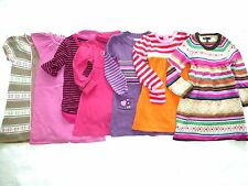 GYMBOREE GAP CHEROKEE Girls NORDIC COLOR-BLOCK TUNIC SWEATER DRESS 3 4 5