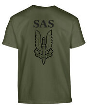 KIDS ARMY SAS T-SHIRT - NEW!!!!!!! - WHO DARES WINS - FANCY DRESS - ALL SIZES