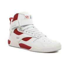 Supra Shoes Bleeker High Top – White Red White