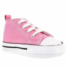Converse Chuck Taylor Pink White Crib Baby Boy Girl New Born Shoes 1- 2 -3 - 4
