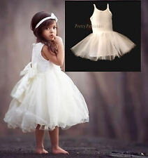 GIRL BABY STIFF NETPETTICOAT UNDERSKIRT COMMUNION FLOWER GIRL DRESS