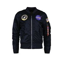 Alpha Industries L-2B NASA Flight Jacket Replica Blue