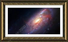Alonline Art - FRAMED Poster Astronomy Nasa Hubble Stars Space Galaxy Giclee