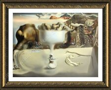 FRAMED Poster Apparition Of Face Fruit Dish Salvador Dali Framed Art Giclee
