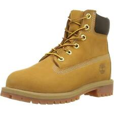 Timberland 6 Inch Classic Boot Youth Wheat Nubuck Boots
