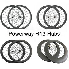 Ultra Light 24 38 50 60 88mm deep road bike bicycle cycling Carbon wheels