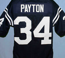 WALTER PAYTON JACKSON STATE UNIVERSITY FOOTBALL JERSEY Navy NEW SEWN ANY SIZE