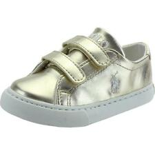 Polo Ralph Lauren Slater Ez Infant Gold Synthetic Trainers