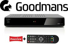 Goodmans Freeview+ Digital TV Recorder Twin Tuner DTR GD11FVRSD 320gb or 500gb