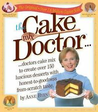 The Cake Mix Doctor by Anne Byrn (1999, Paperback) NeW