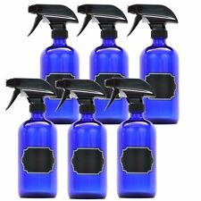 Firefly Craft Glass Spray Bottles with Chalkboard Labels, 16 ounces each
