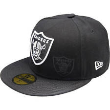 New Era OAKLAND RAIDERS 59FIFTY SIDELINE CAP *USA Brand - Size 7 1/4, 3/8 Or 1/2